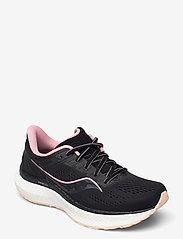 Saucony - HURRICANE 23 - running shoes - black/rosewater - 0