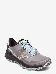 Saucony - PEREGRINE 11 - running shoes - zinc/sky/loom - 0