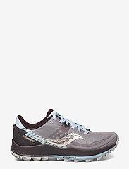 Saucony - PEREGRINE 11 - running shoes - zinc/sky/loom - 1