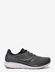 Saucony - GUIDE 14 - running shoes - charcoal/rose - 1