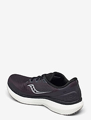 Saucony - TRIUMPH 18 WIDE - löbesko - charcoal/white - 2