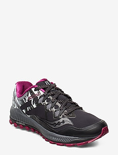 PEREGRINE 8 ICE+ - running shoes - blu/blk/viz red