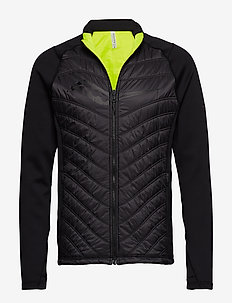 REVERSI-RUN JACKET - BLACK