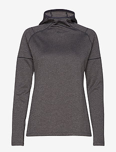 RUNSTRONG THERMAL HOODIE - DARK GREY HEATHER