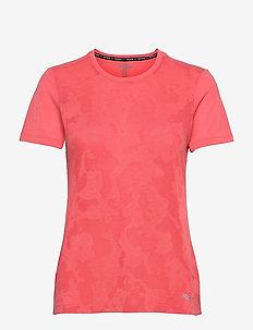 RAMBLE SHORT SLEEVE - t-shirts - calypso coral