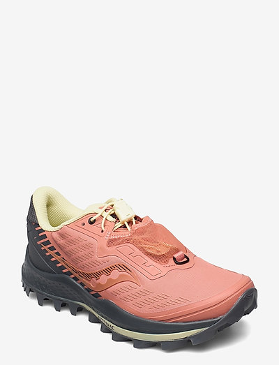 PEREGRINE 11 ST - running shoes - rust/charcoal