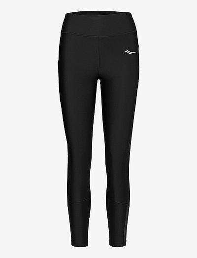 FORTIFY 7/8 TIGHT - running & training tights - black