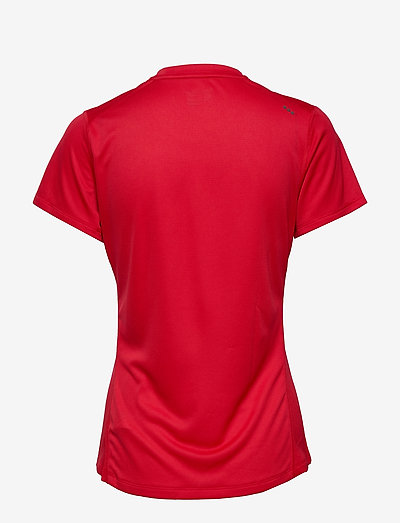 Saucony Stopwatch Short Sleeve- T-shirty I Topy Red