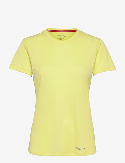 STOPWATCH SHORT SLEEVE - t-shirts - sunny lime