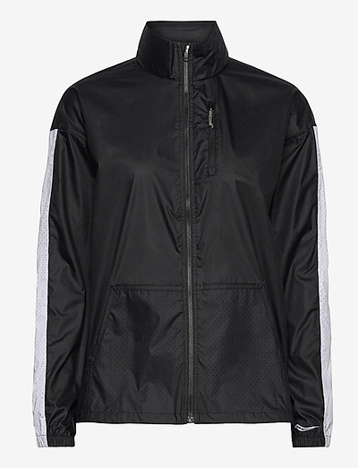 PACKAWAY JACKET - training jackets - black