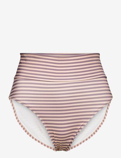 SARA - bikiniunderdeler - stripe patchouli
