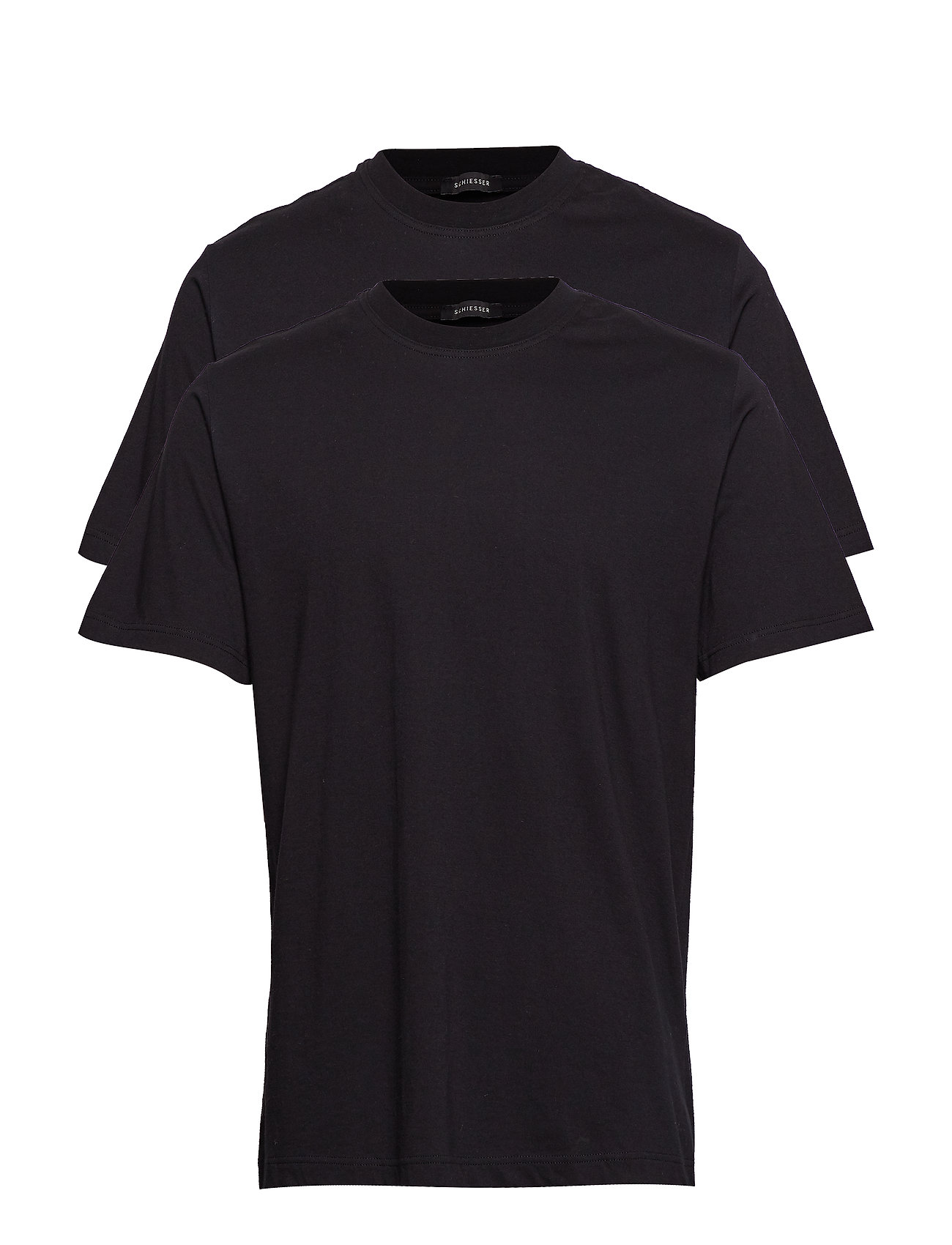 Schiesser Shirt 1/2 - BLACK