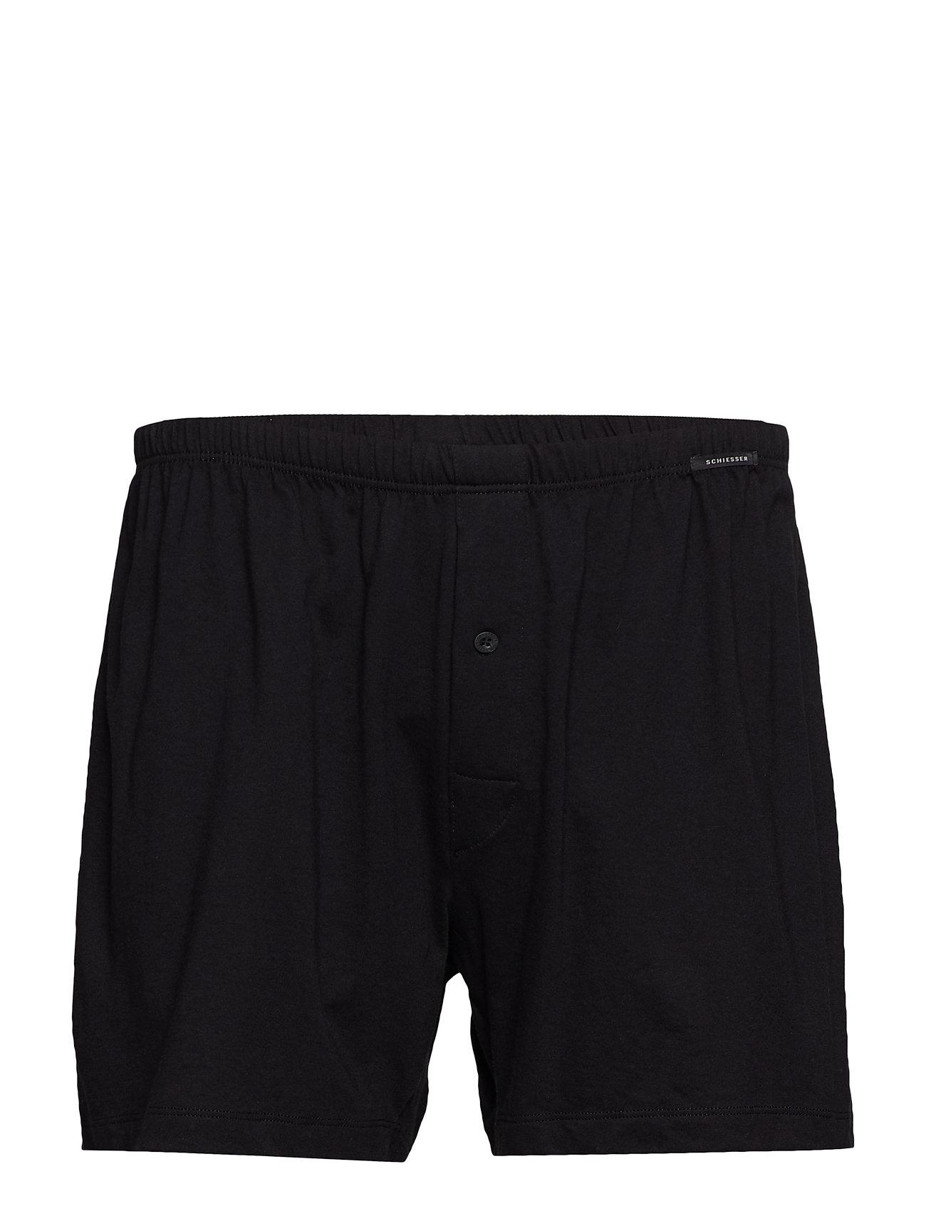 Schiesser Boxershorts - BLACK