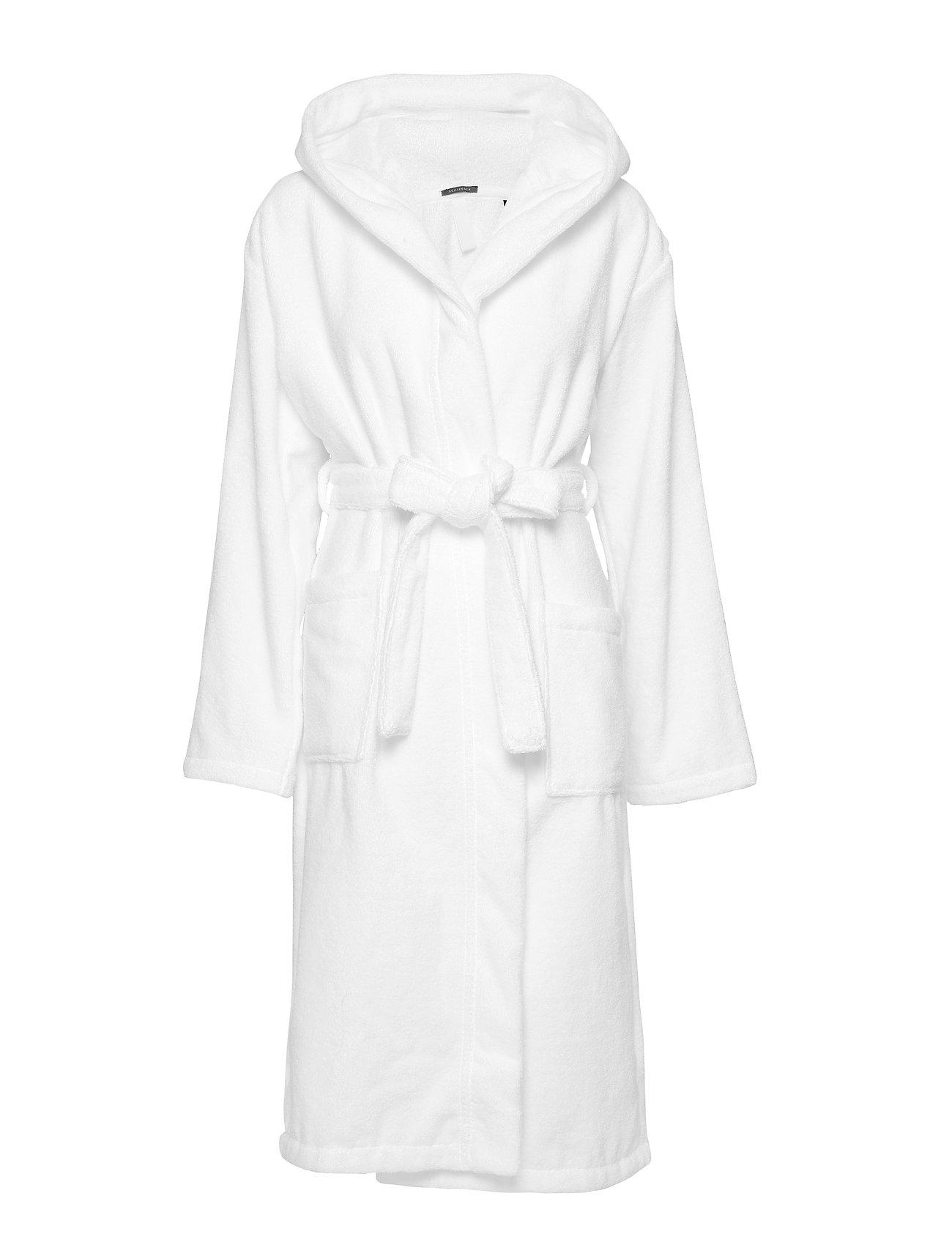 Schiesser Bath Robe - WHITE