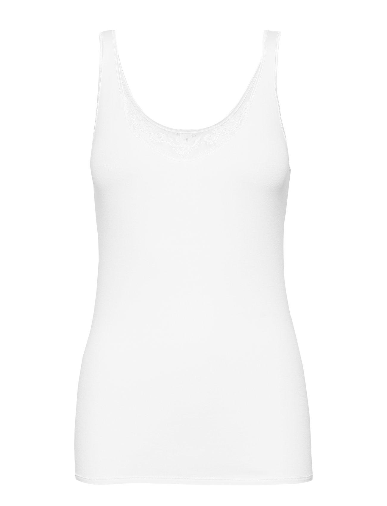 Schiesser Top - WHITE