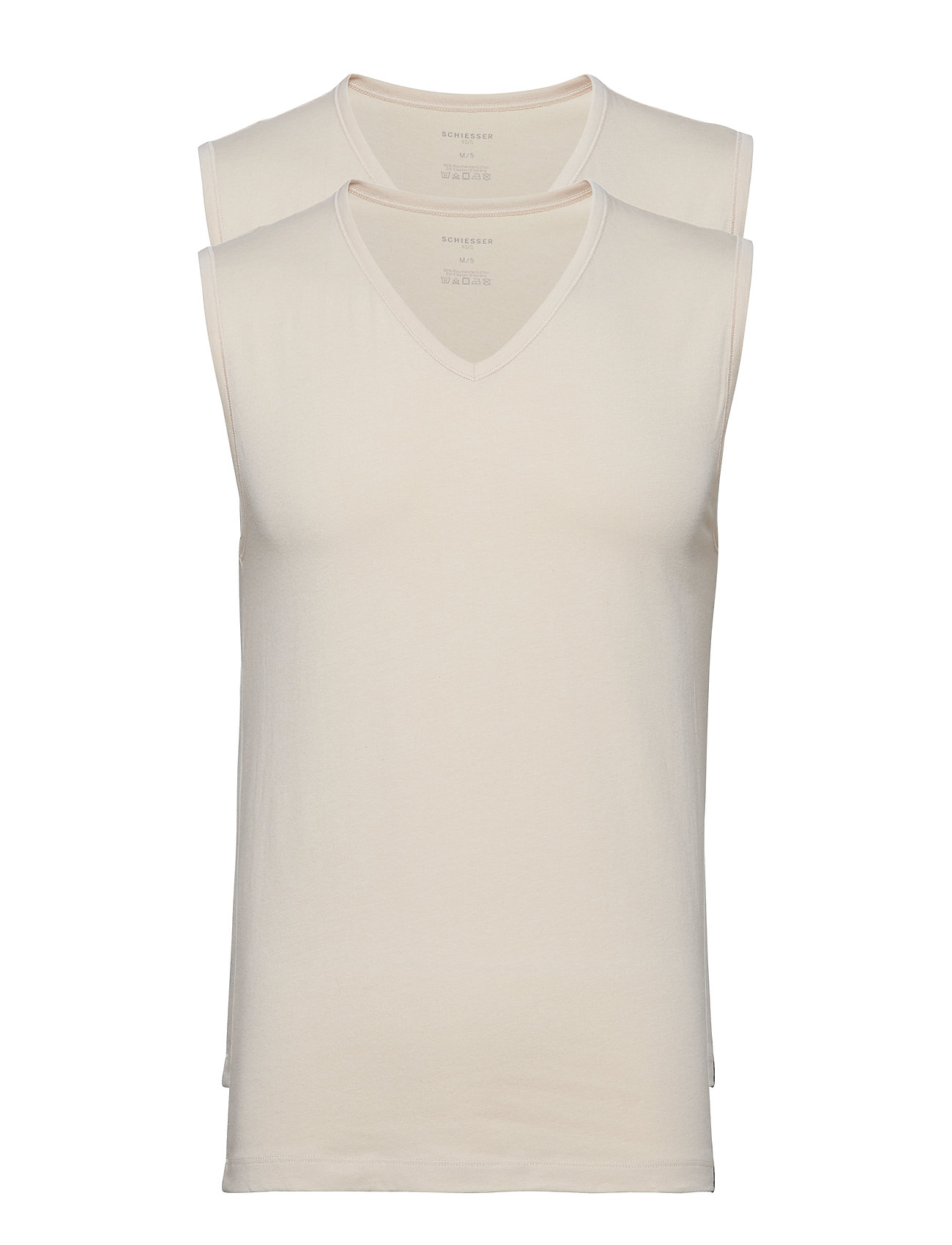 Image of Tank Top Underwear T-shirts Sleeveless Creme Schiesser (3136918047)