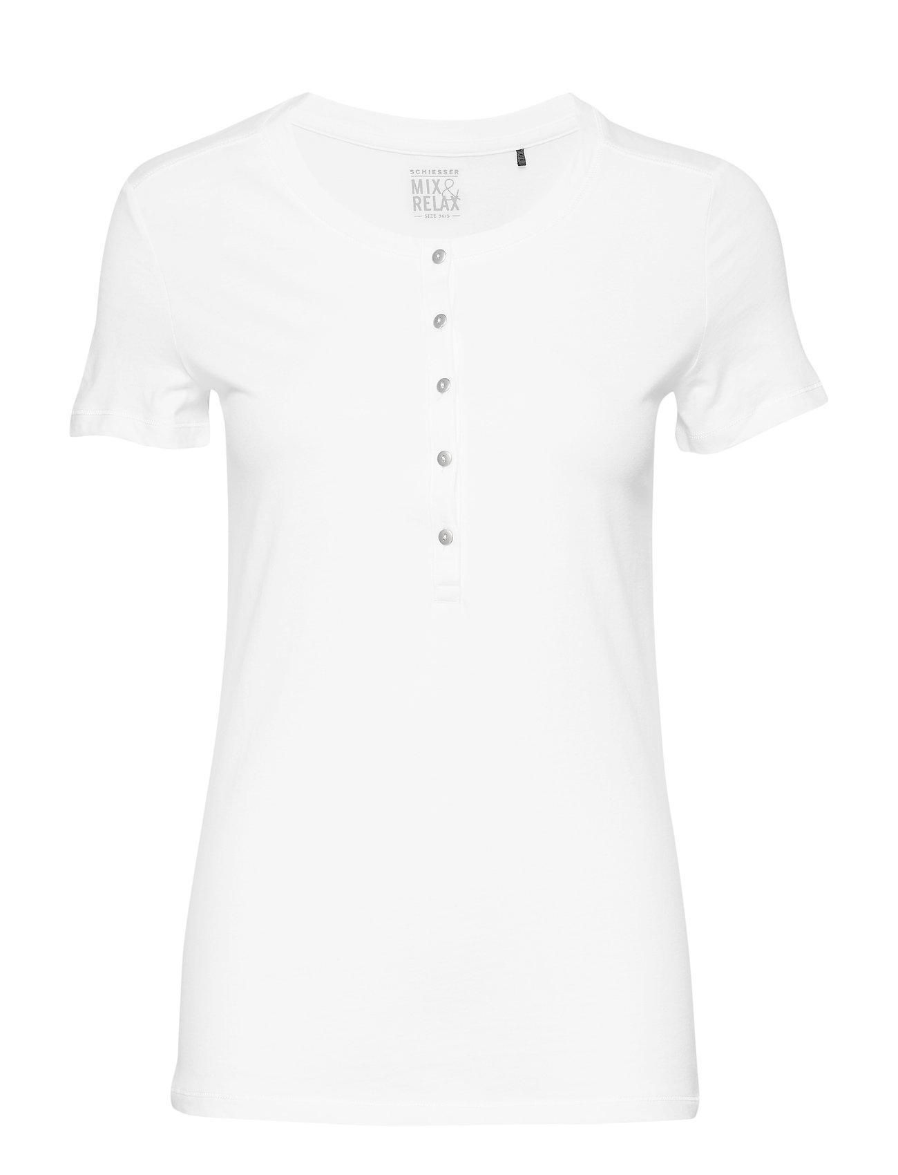 Schiesser Shirt 1/2 - WHITE