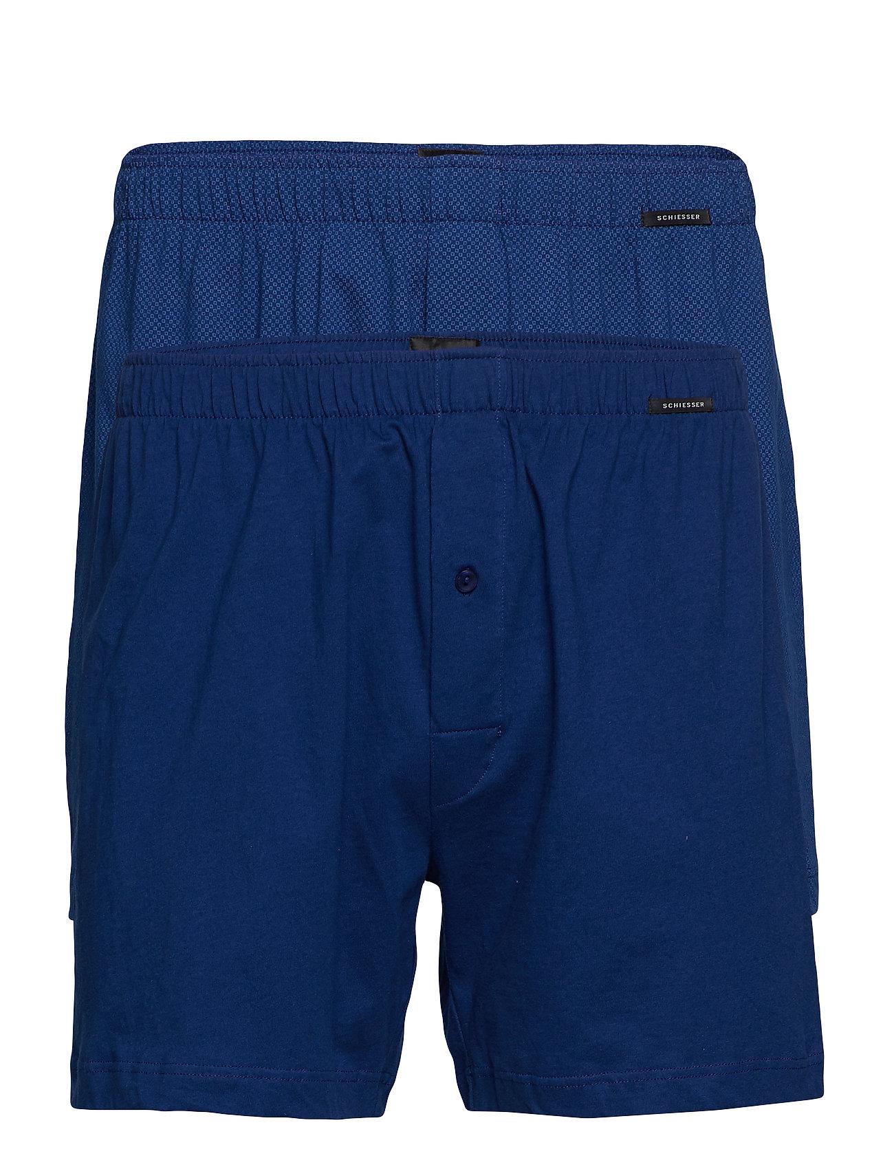 Schiesser Boxershorts - BLUE