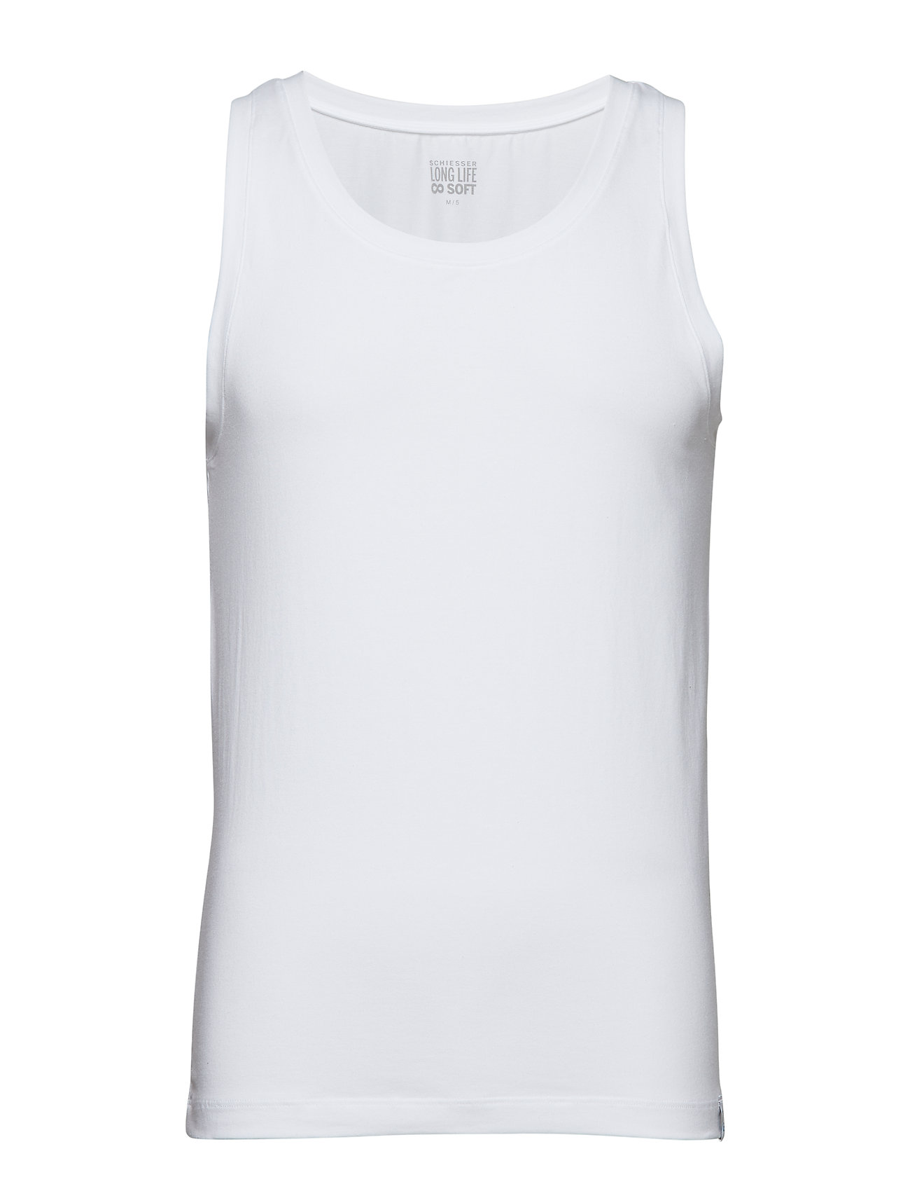 Image of Singlet Underwear T-shirts Sleeveless Hvid Schiesser (3137822713)