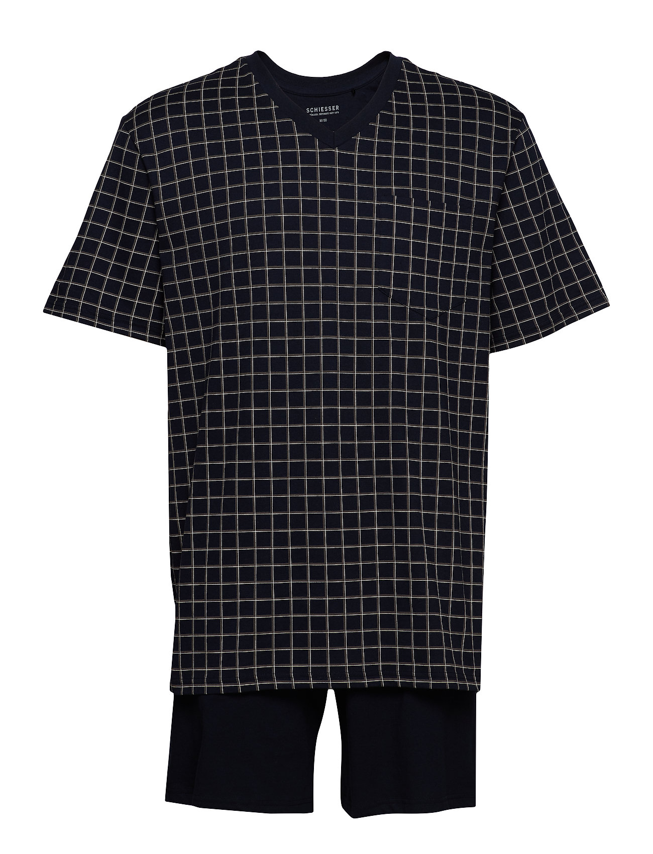 Schiesser Pyjama Short - DARK BLUE