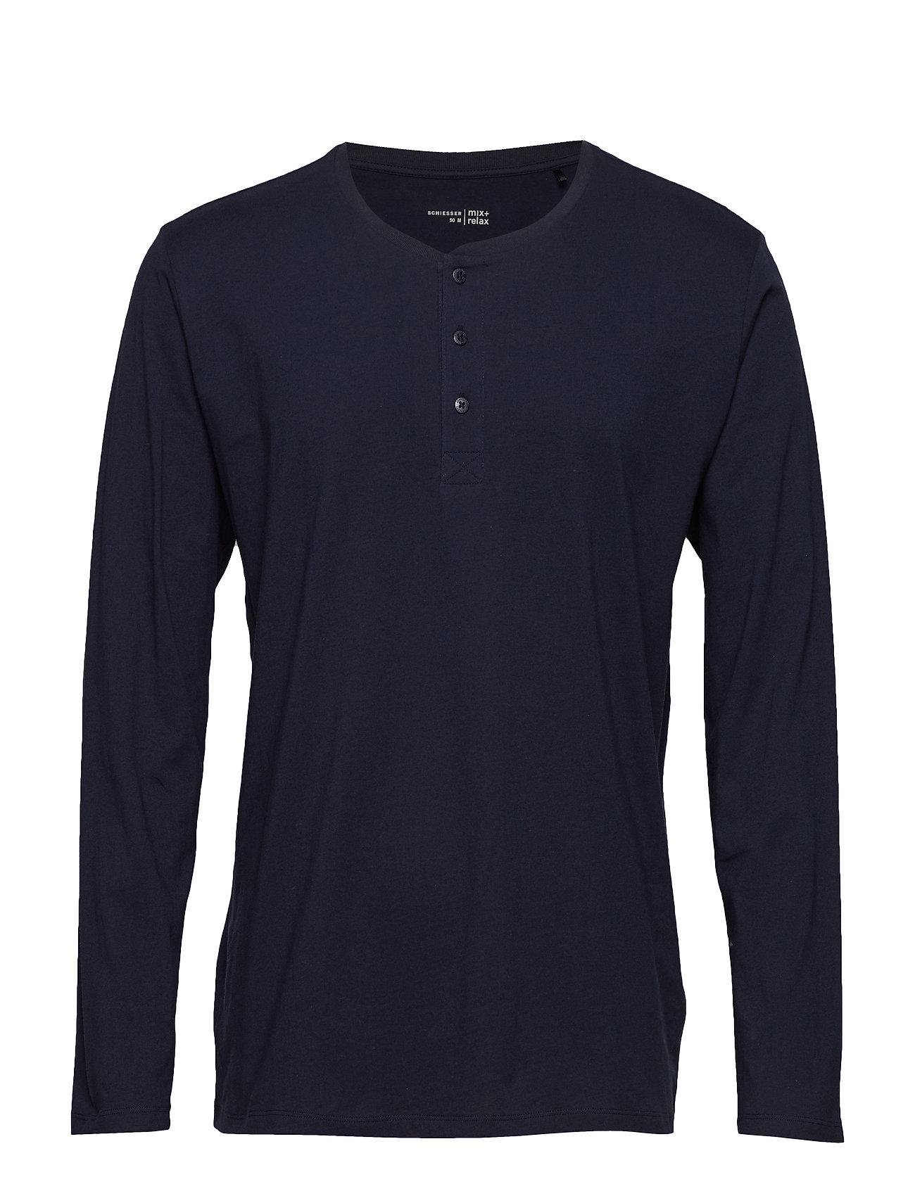 Schiesser Shirt 1/1 - DARK BLUE