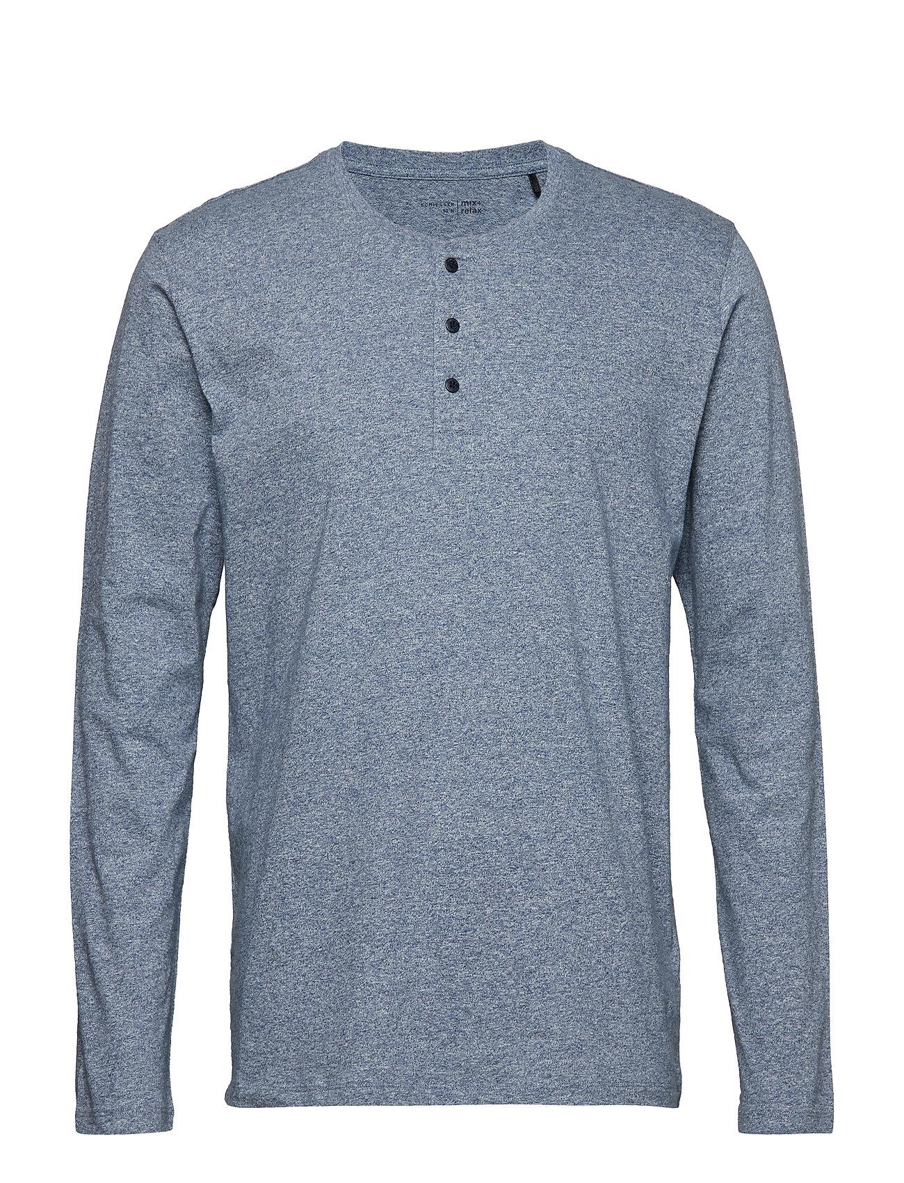Schiesser Shirt 1/1 - DARKBLUE MEL.