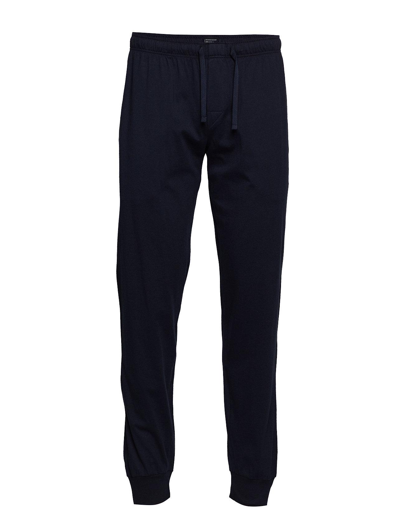 Image of Long Pants Hyggebukser Blå Schiesser (3134854651)