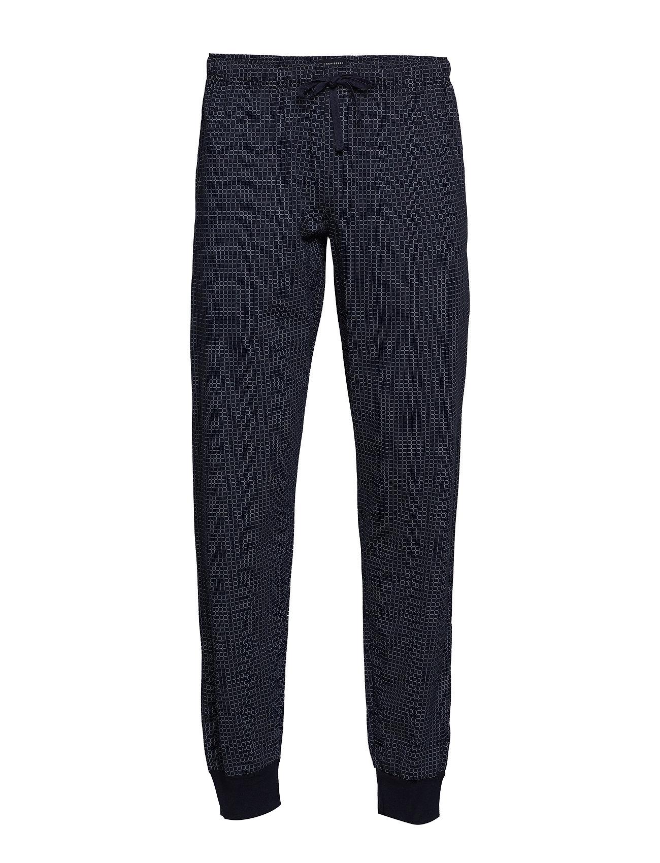 Image of Long Pants Hyggebukser Blå Schiesser (3134854653)