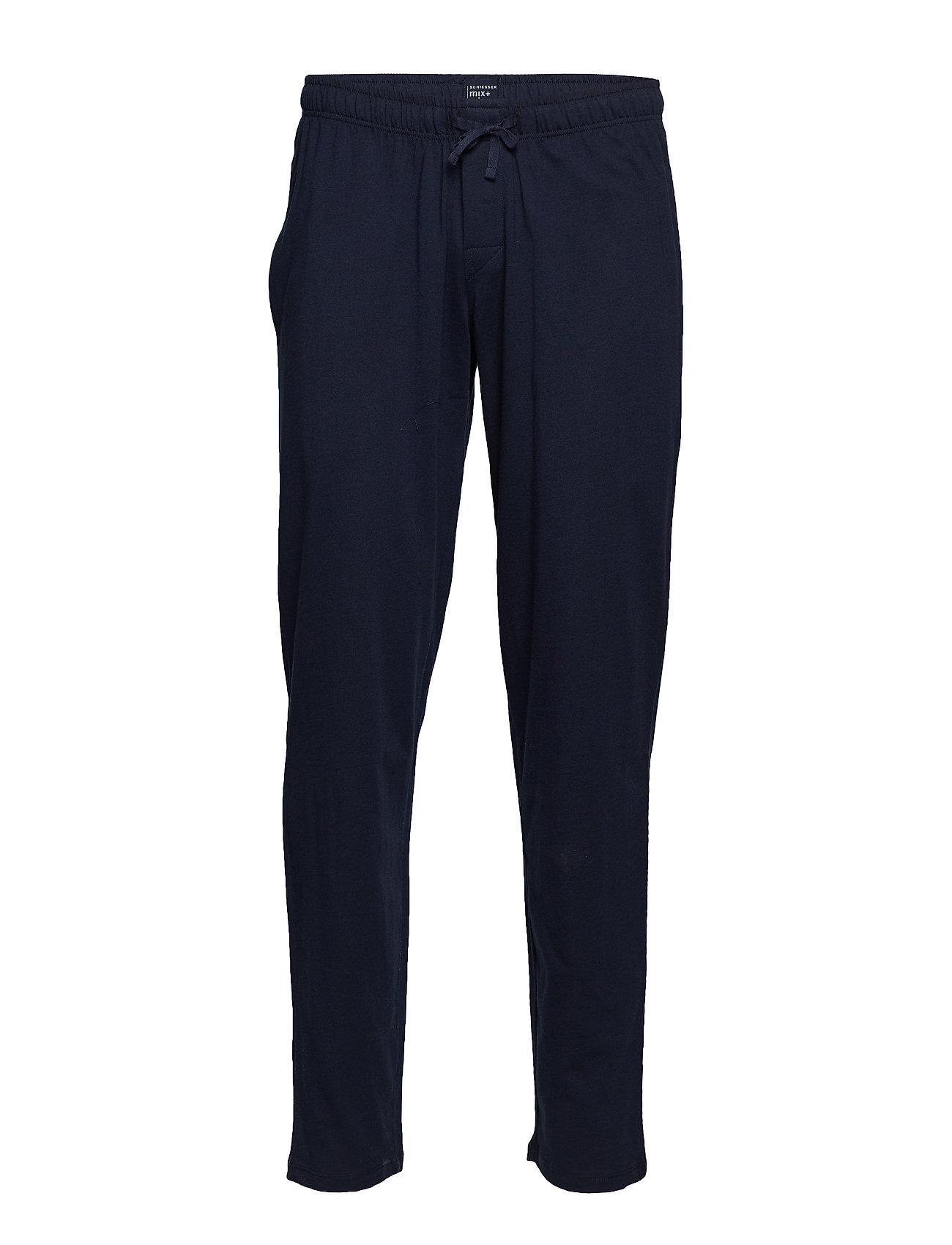 Schiesser Long Pants - DARK BLUE