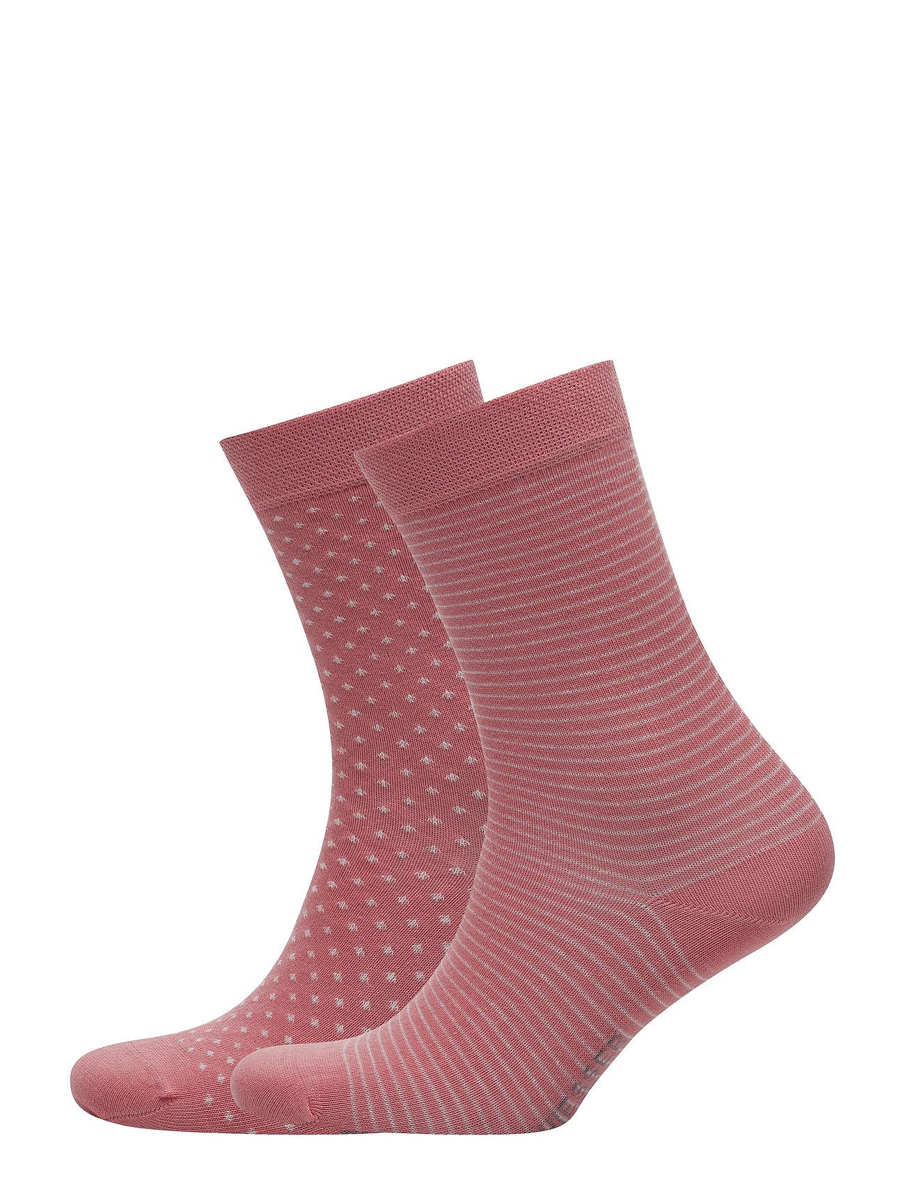 Schiesser Socks - CORAL RED