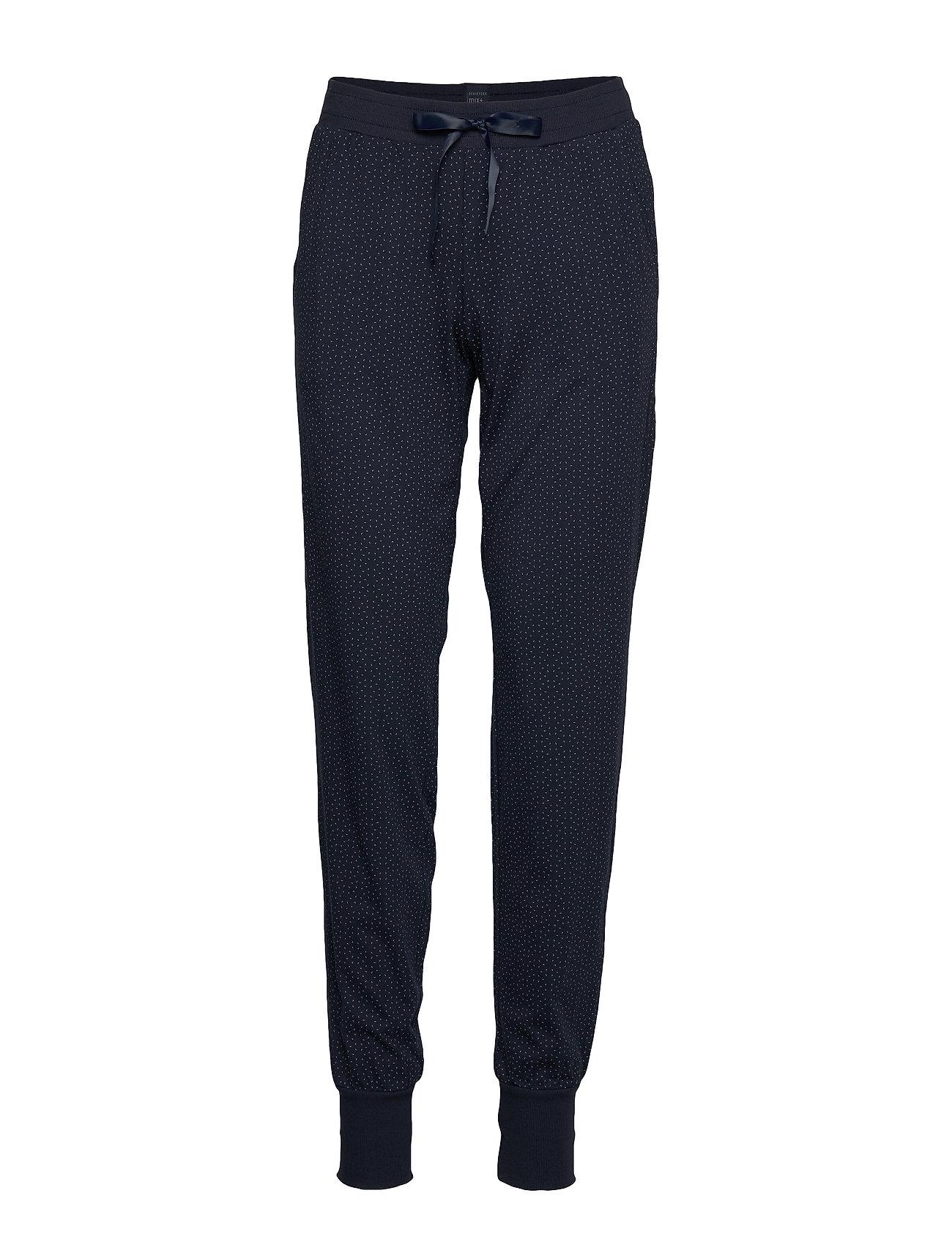 Schiesser Long Pants - NIGHTBLUE