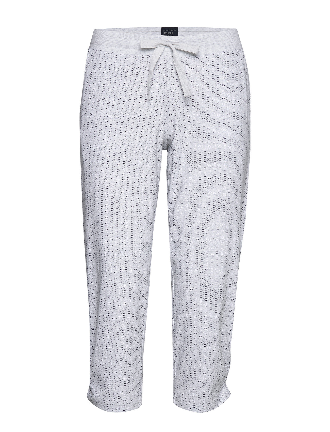 Schiesser Pants 3/4 - GREY MELANGE