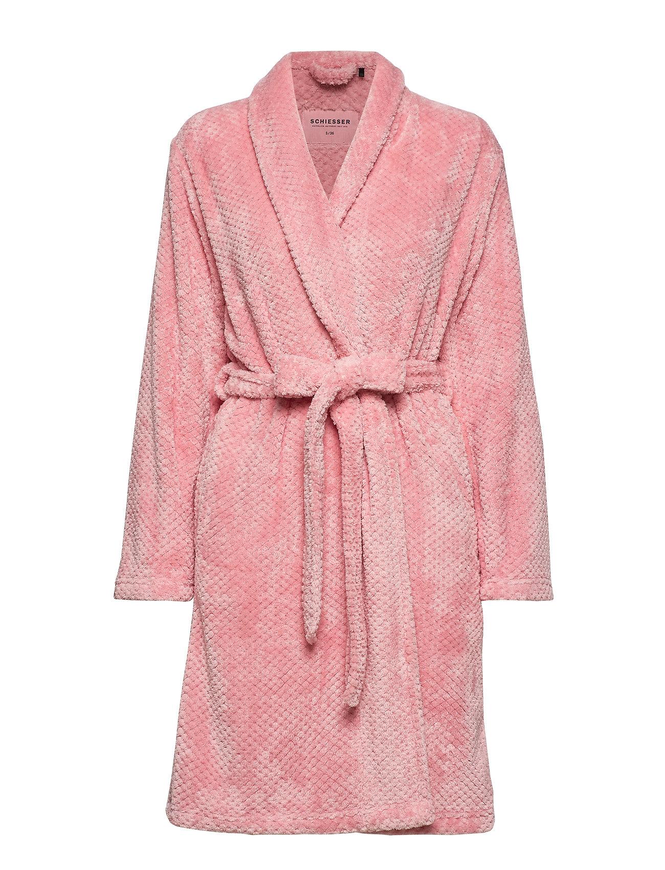 Schiesser Bath Robe - ROSEWOOD