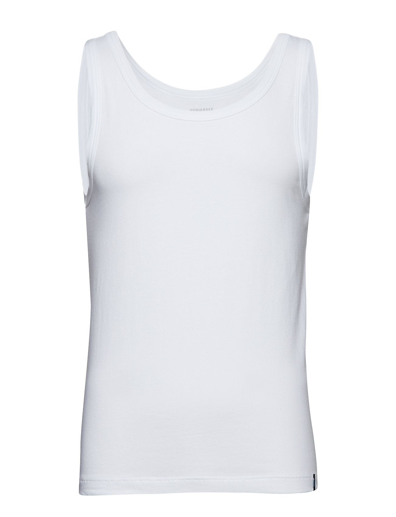 Image of Singlet Underwear T-shirts Sleeveless Hvid Schiesser (3189039513)