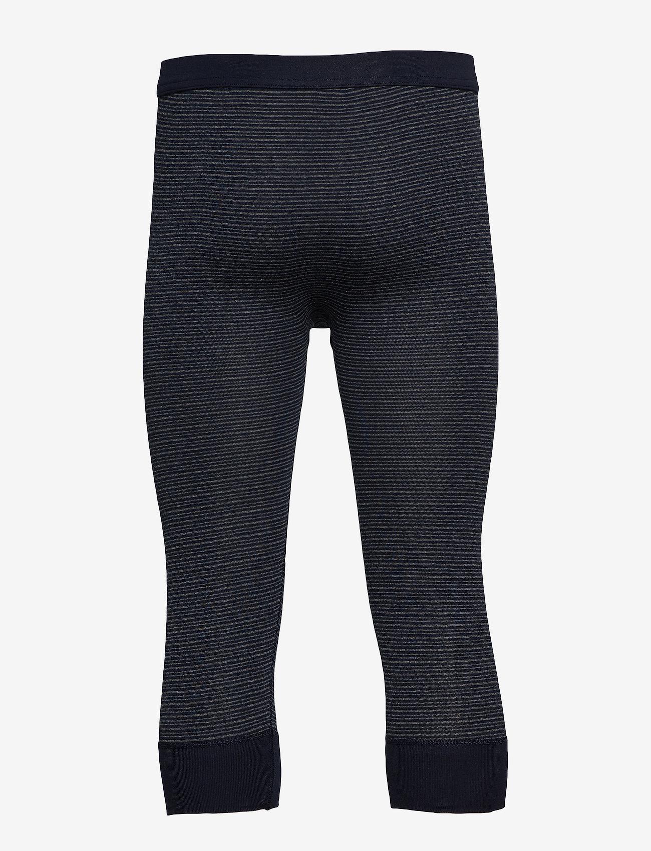 Schiesser - Pants 3/4 - base layer underdeler - dark blue - 1