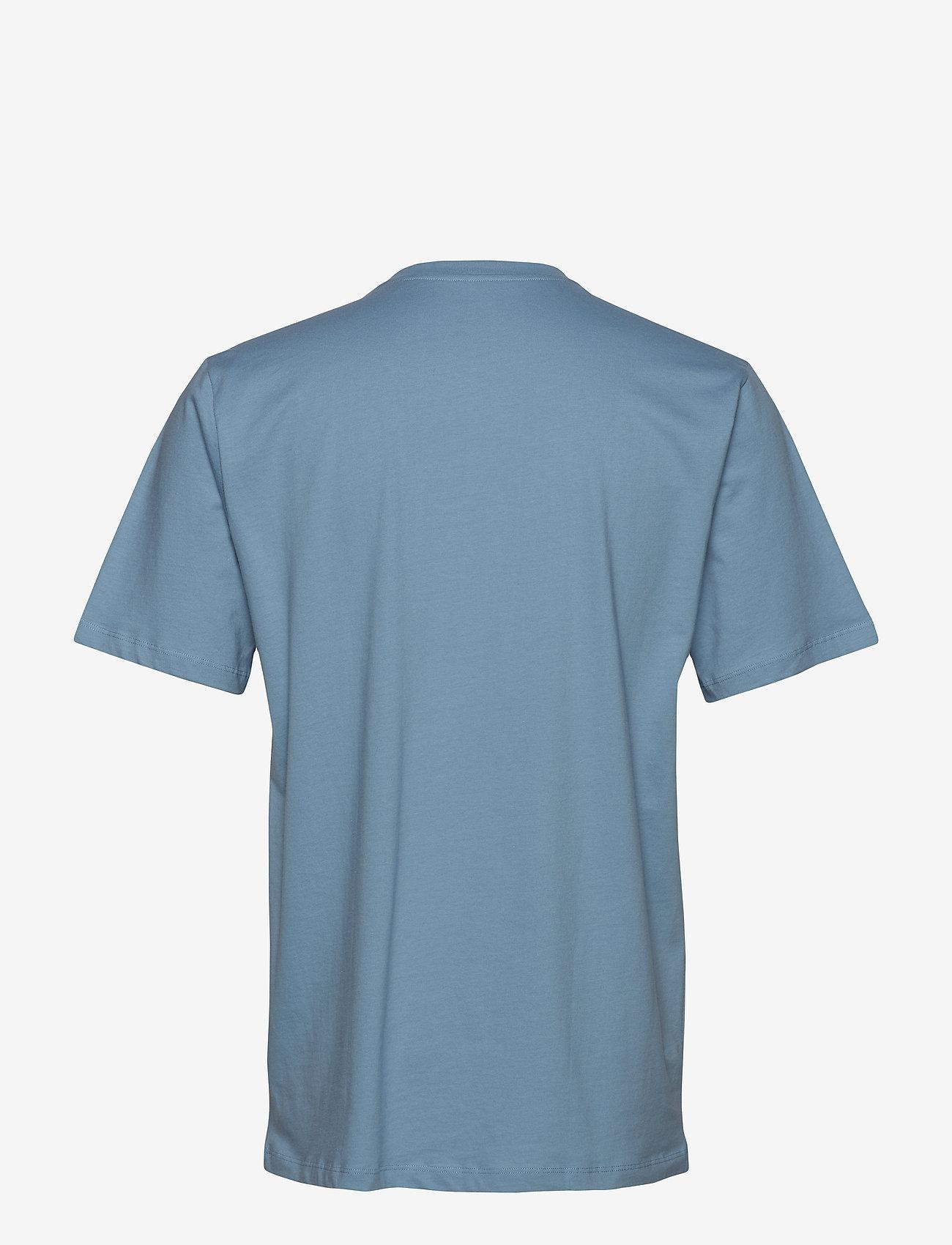 Schiesser - Shirt 1/2 - basic t-shirts - light blue - 1