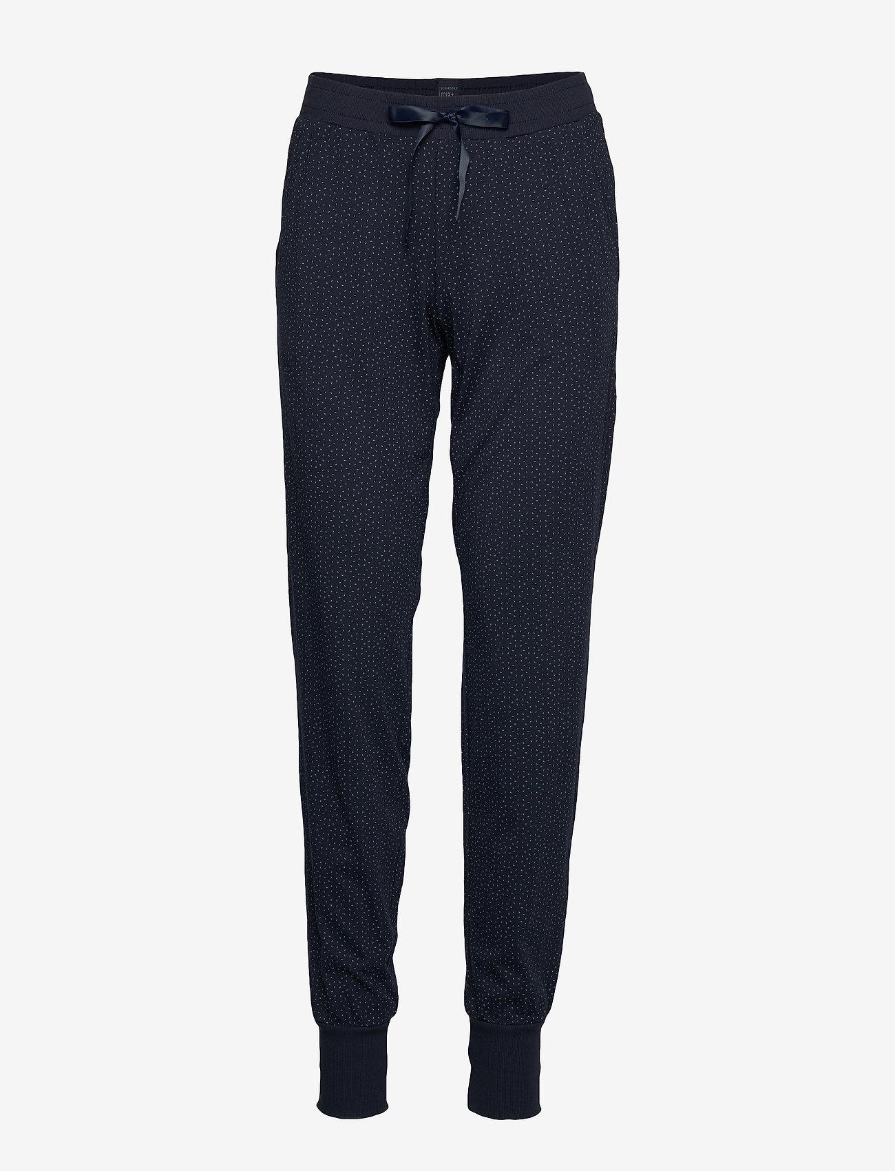 Schiesser - Long Pants - nederdelar - nightblue - 0