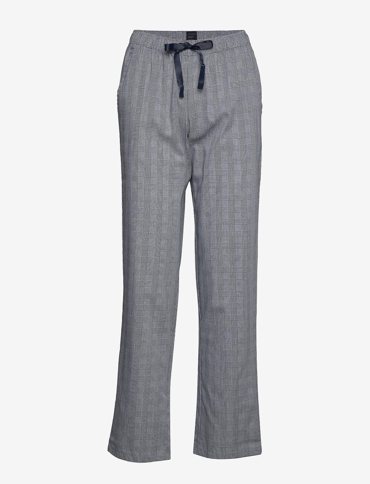 Schiesser - Long Pants - doły - nightblue - 0