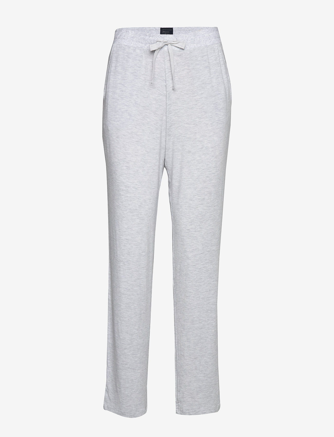Schiesser - Long Pants - nederdelar - grey melange - 0