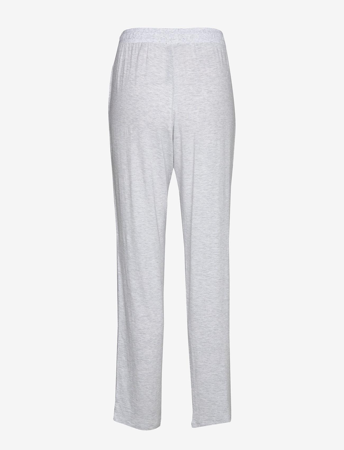 Schiesser - Long Pants - nederdelar - grey melange - 1