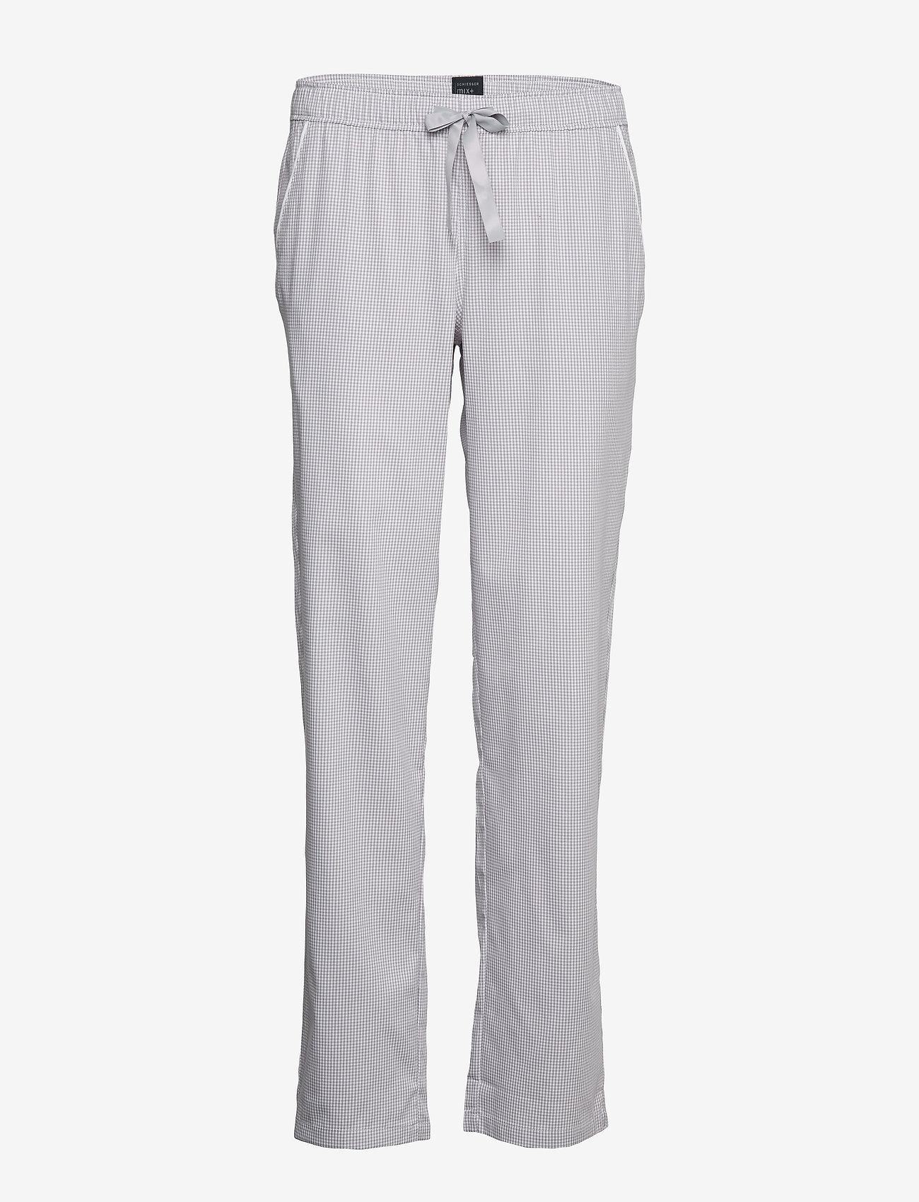 Schiesser - Long Pants - doły - light grey - 0