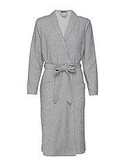 Bath Robe - GREY MELANGE