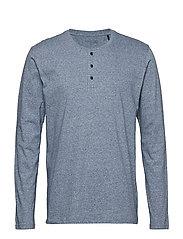 Shirt 1/1 - DARKBLUE MEL.