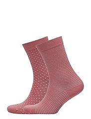 Socks - CORAL RED