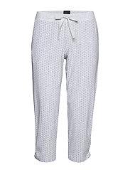 Pants 3/4 - GREY MELANGE