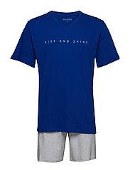 Pyjama Short - ROYAL BLUE