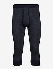 Schiesser - Pants 3/4 - base layer underdeler - dark blue - 0