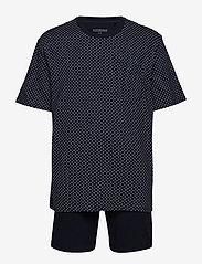 Schiesser - Pyjama Short - pyjamas - dark blue - 0