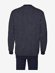 Schiesser - Pyjama Long - pyjamas - dark blue - 1