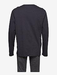 Schiesser - Pyjama Long - pyjamas - anthracite - 1